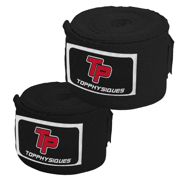 Black Boxing Hand Wraps
