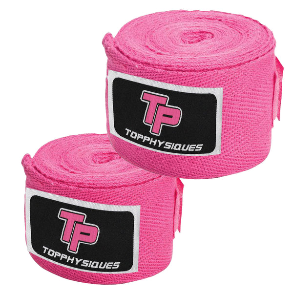 Pink Boxing Hand Wraps