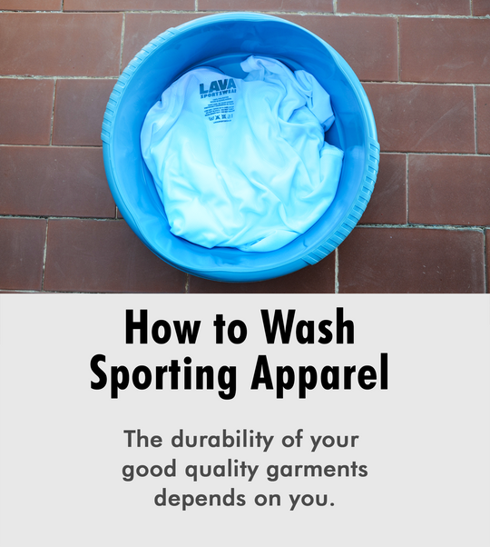 washing with care sporting goods running apparel