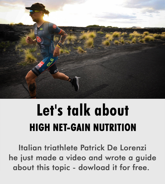 high net-gain nutrition italian triathlete