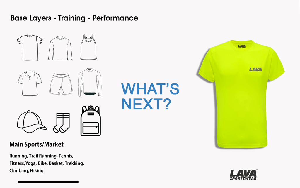 Lava Sportswear production