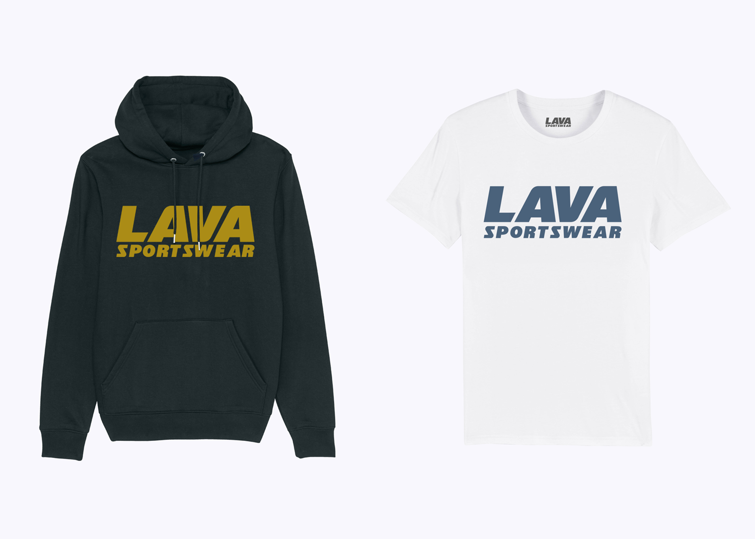 screen printed Lava Sportswear apparel