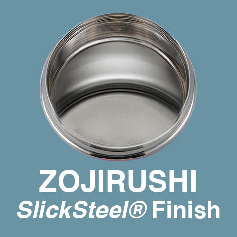 SlickSteel® finish interior resists corrosion and repels stains
