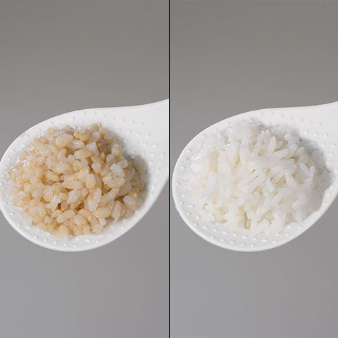 Healthy Brown/GABA Brown and Jasmine White Rice settings
