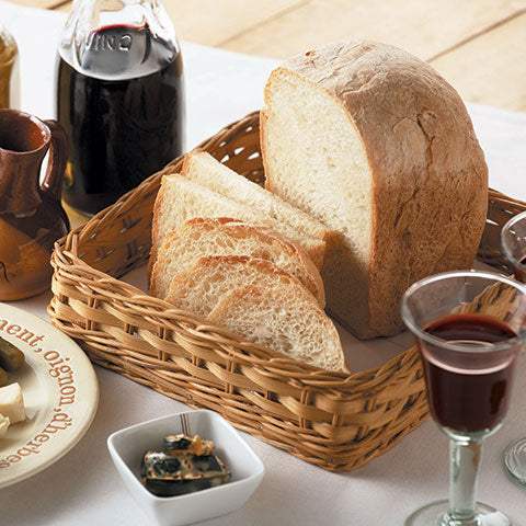 European course setting bakes light and savory breads to pair with a variety of cuisines