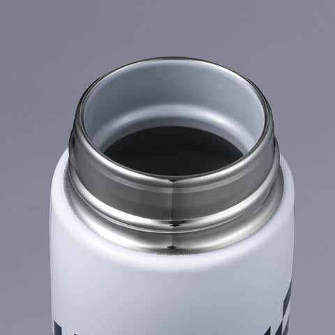 The rounded bottle opening is smooth and comfortable to the touch when drinking and cleaning