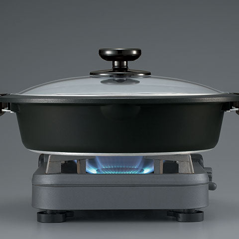 Cooking pan can be used directly on the stovetop burner