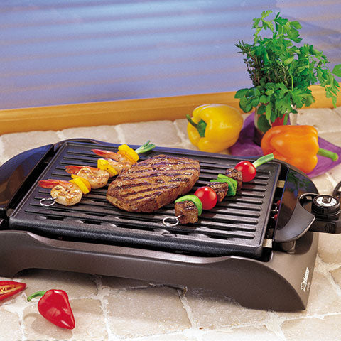 The perfect way to grill steaks, seafood, vegetables and more indoor