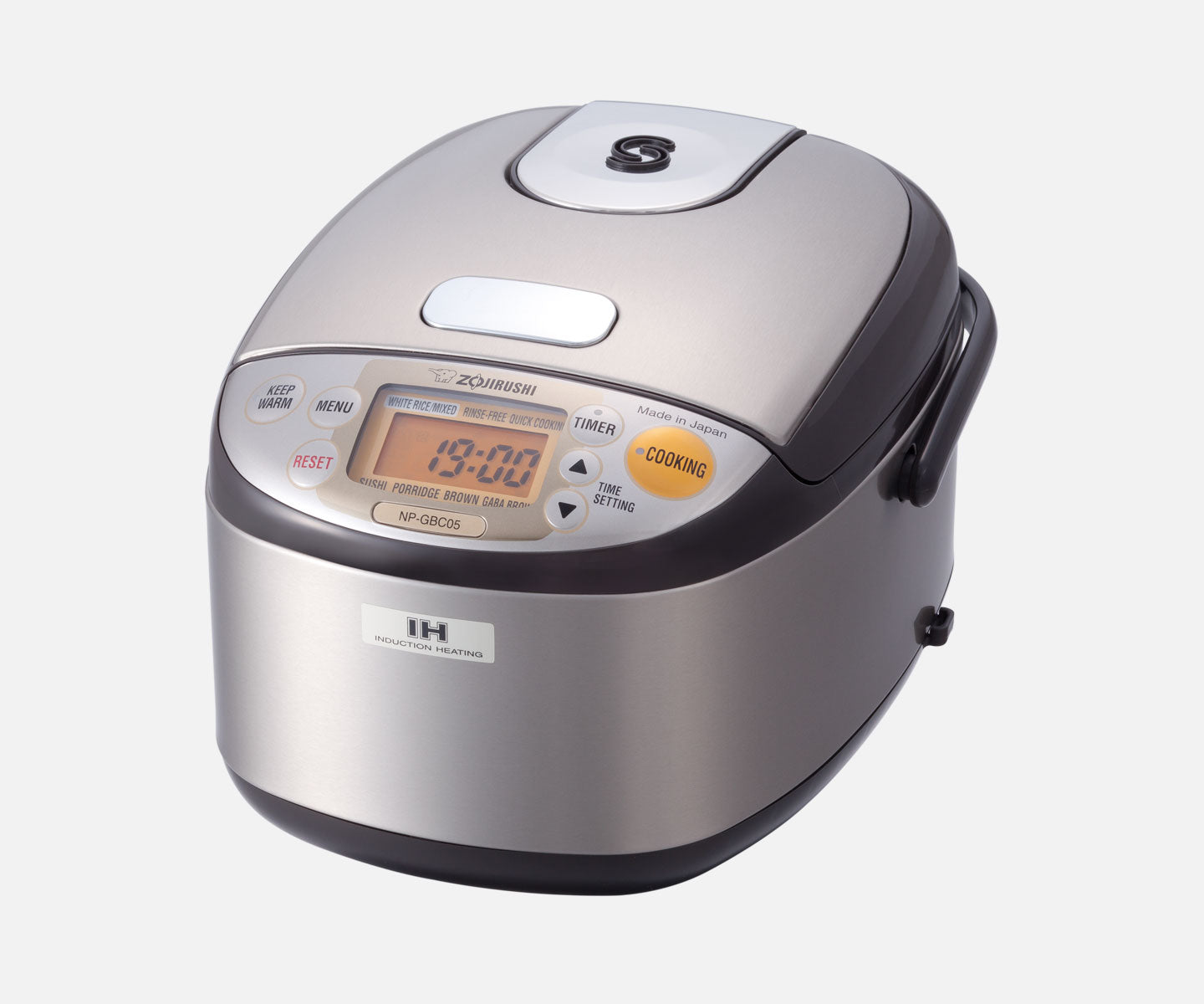 Induction Heating System Rice Cooker & Warmer NP-GBC05