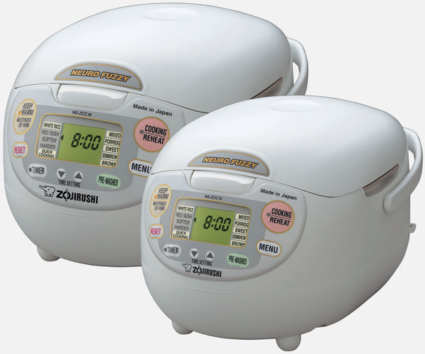 Neuro Fuzzy® Rice Cooker & Warmer NS-ZCC10/18