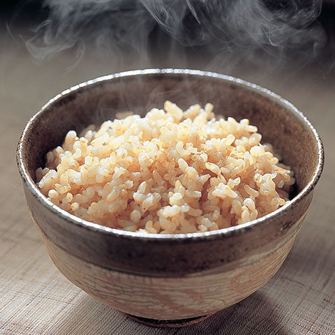 Special brown rice menu setting for soft, delicious rice
