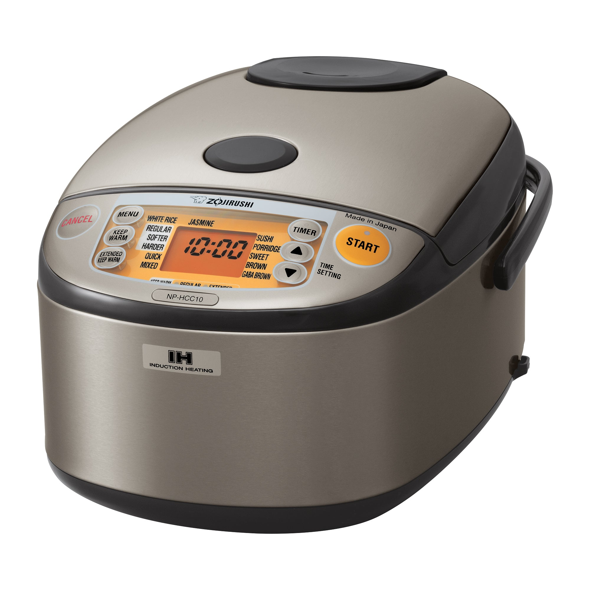 Induction Heating System Rice Cooker & Warmer NP-HCC10/18