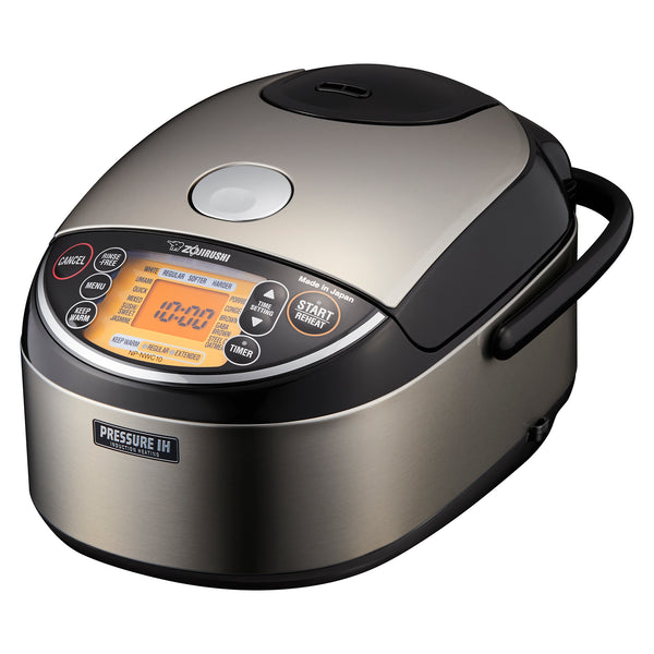 Pressure Induction Heating Rice Cooker & Warmer NP-NWC10/18