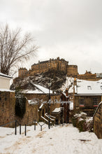 Load image into Gallery viewer, Edinburgh Castle, Scotland Photography, Travel art, Edinburgh Skyline, Edinburgh, Edinburgh Print, Edinburgh Mounted Print,  6'x 6' Photo