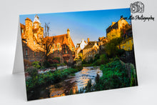 Load image into Gallery viewer, Edinburgh Dean Village Greeting Card - Blank Card
