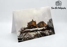 Load image into Gallery viewer, Edinburgh Castle Greeting Card -  Blank Card