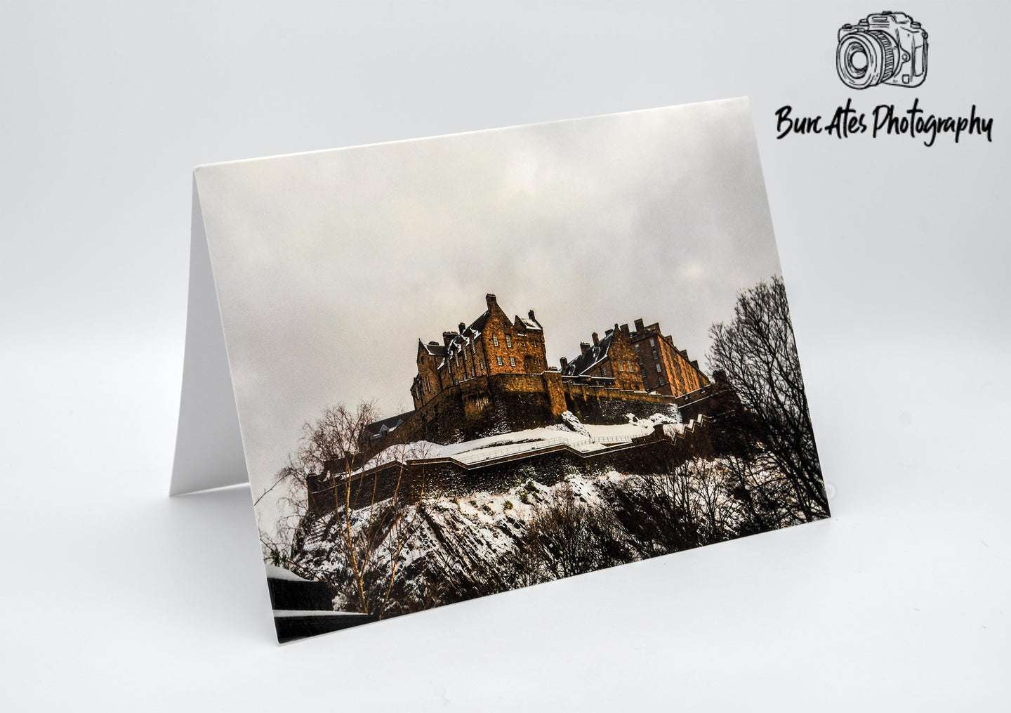 Edinburgh Castle Greeting Card -  Blank Card