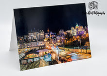 Load image into Gallery viewer, Edinburgh Old Town Greeting Card, Blank Card
