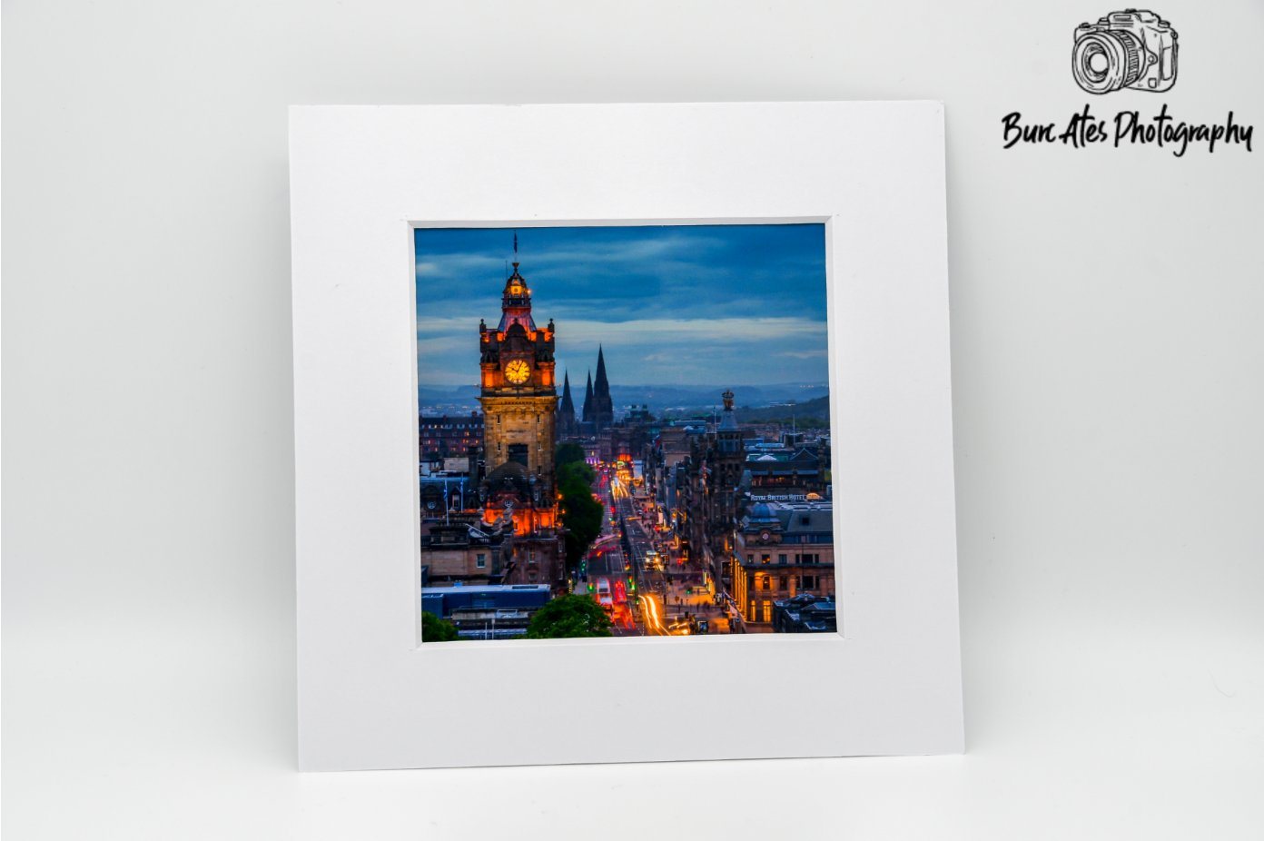 Edinburgh Art Print, Scotland Photography, Travel art, Edinburgh Skyline, Edinburgh Print, Edinburgh Mounted Print, 6'x6' Photo