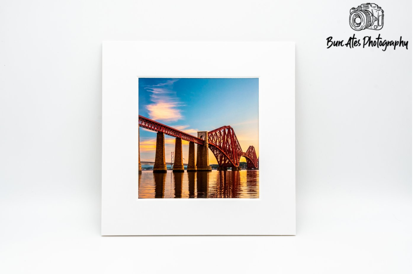 Edinburgh, Forth Bridge, Scotland Photography, Travel art, Edinburgh, Edinburgh Print, Edinburgh Mounted Print, 6'x 6' Photo