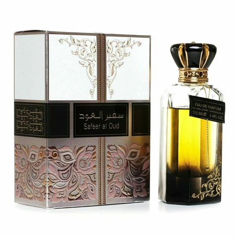 LATTAFA Oud Safeer Al Oud UNISEX Eau De Parfum 100ml-Fragrance Wholesale