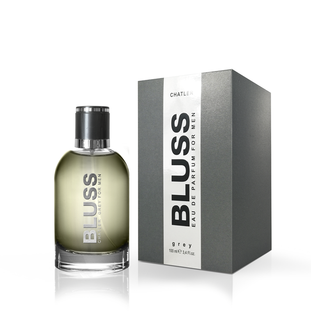CHATLER Bluss Grey Men Eau De Parfum 100ml