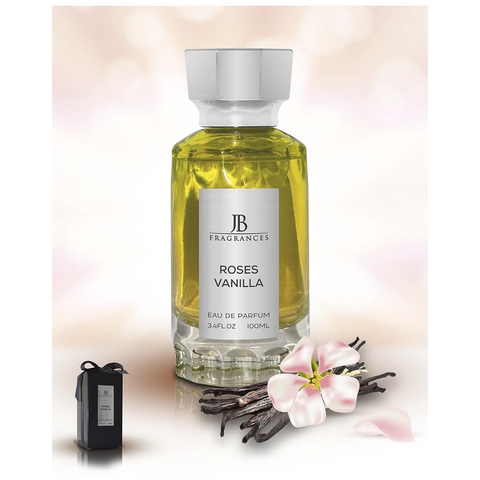 JB FRAGRANCES ROSES VANILLA 100ML EDP UNISEX