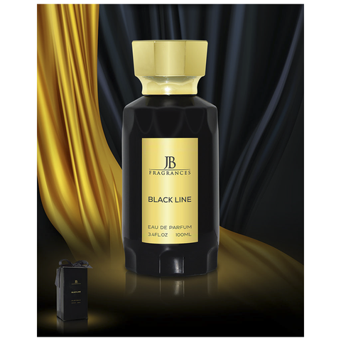 JB FRAGRANCES BLACK LINE Eau De Parfum 100ml UNISEX