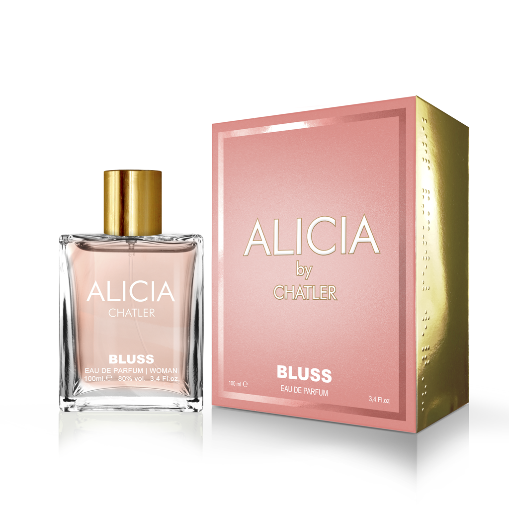 Alicia By Chatler Bluss  Eau De Parfum 100ml