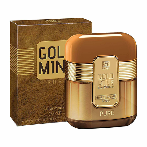 Gold Mine Pure Pour Homme Eau De Toilette 100ml-Fragrance Wholesale