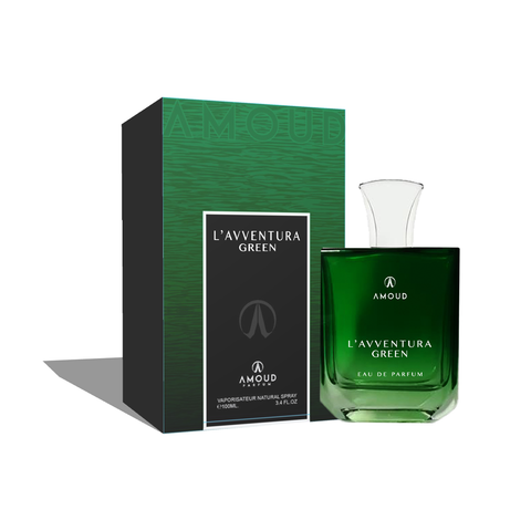 AMOUD L'AVVENTURA GREEN EAU DE PARFUM 100ML-Fragrance Wholesale