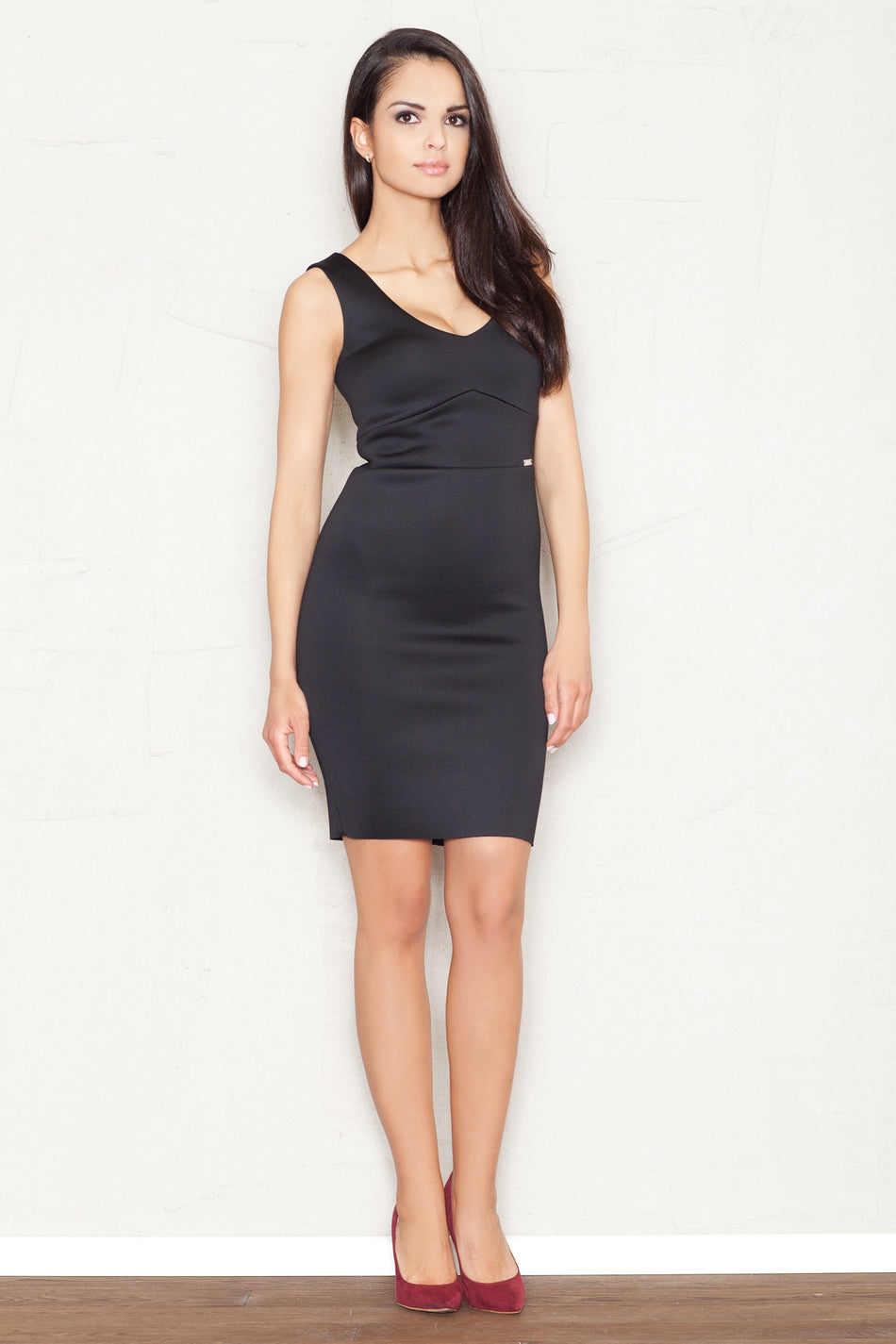 Cocktailkleid model 43781 Figl