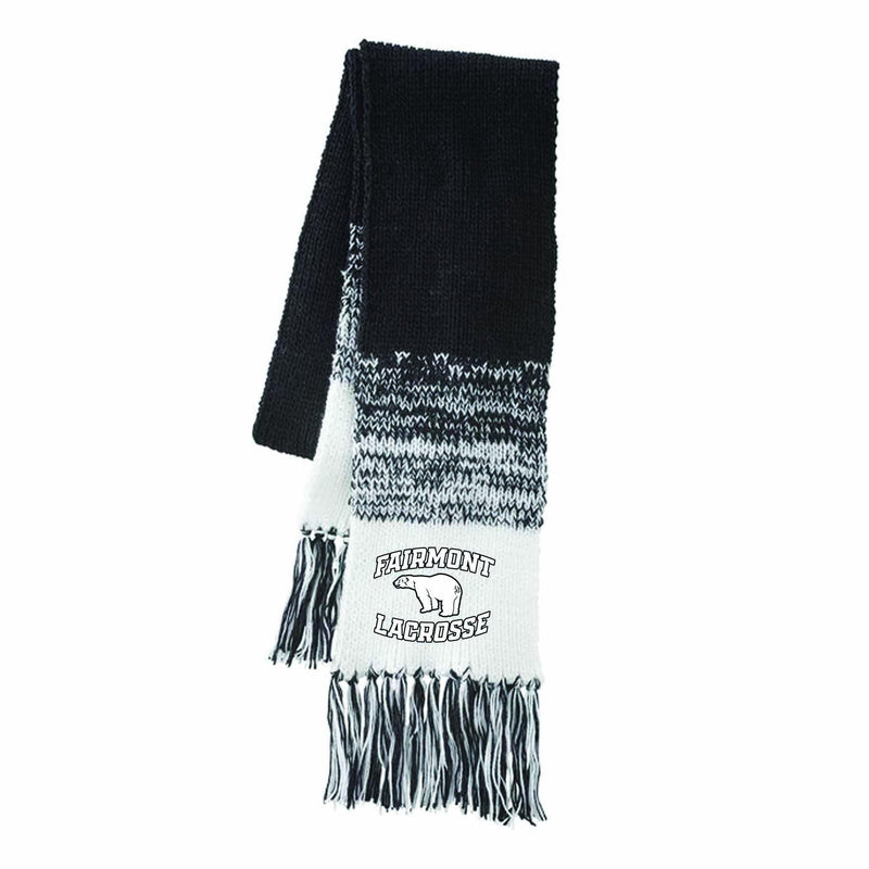 Fairmont HOLLOWAY ASCENT SCARF - Black - Top String Lacrosse