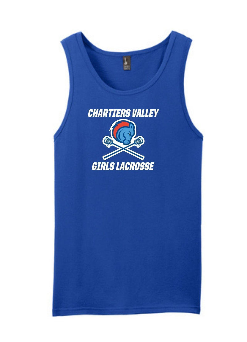 Chartiers Valley Concert Tank - Royal - Top String Lacrosse