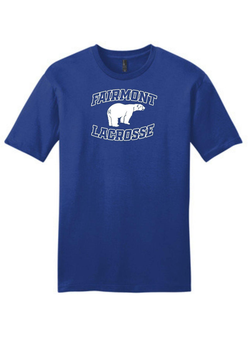 Fairmont District ® Very Important Tee ® - Royal - Top String Lacrosse