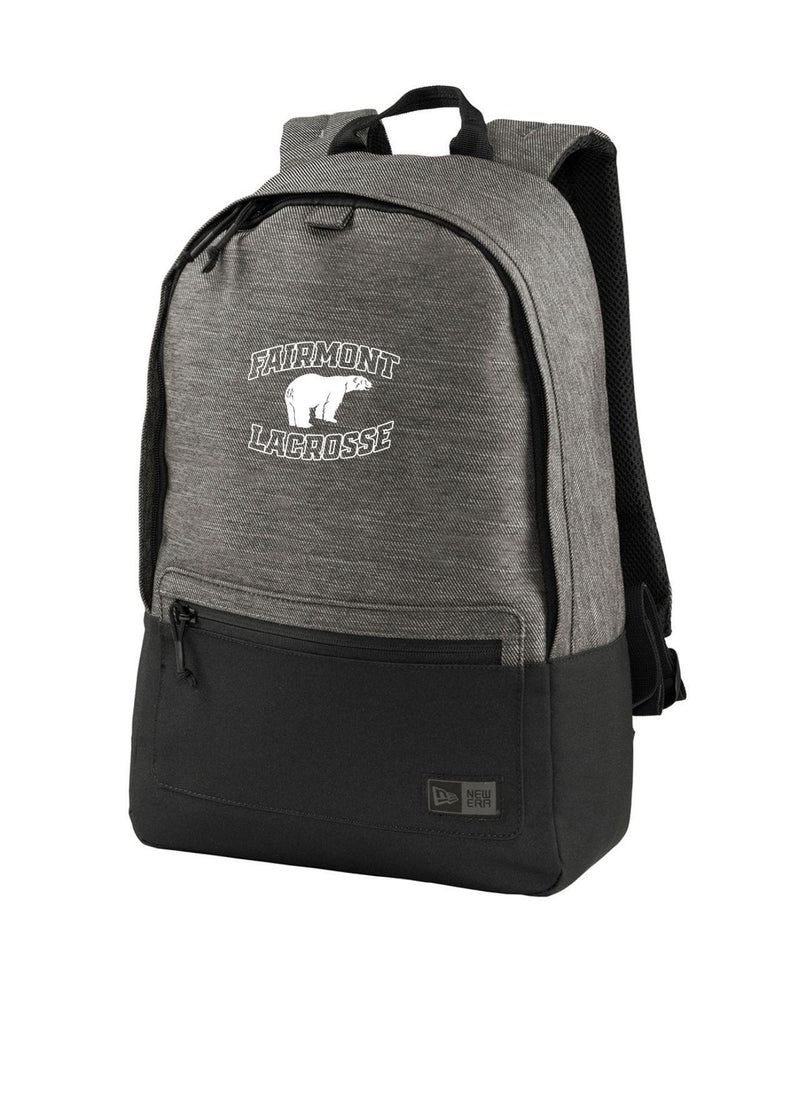 Fairmont New Era ® Legacy Backpack - Black - Top String Lacrosse
