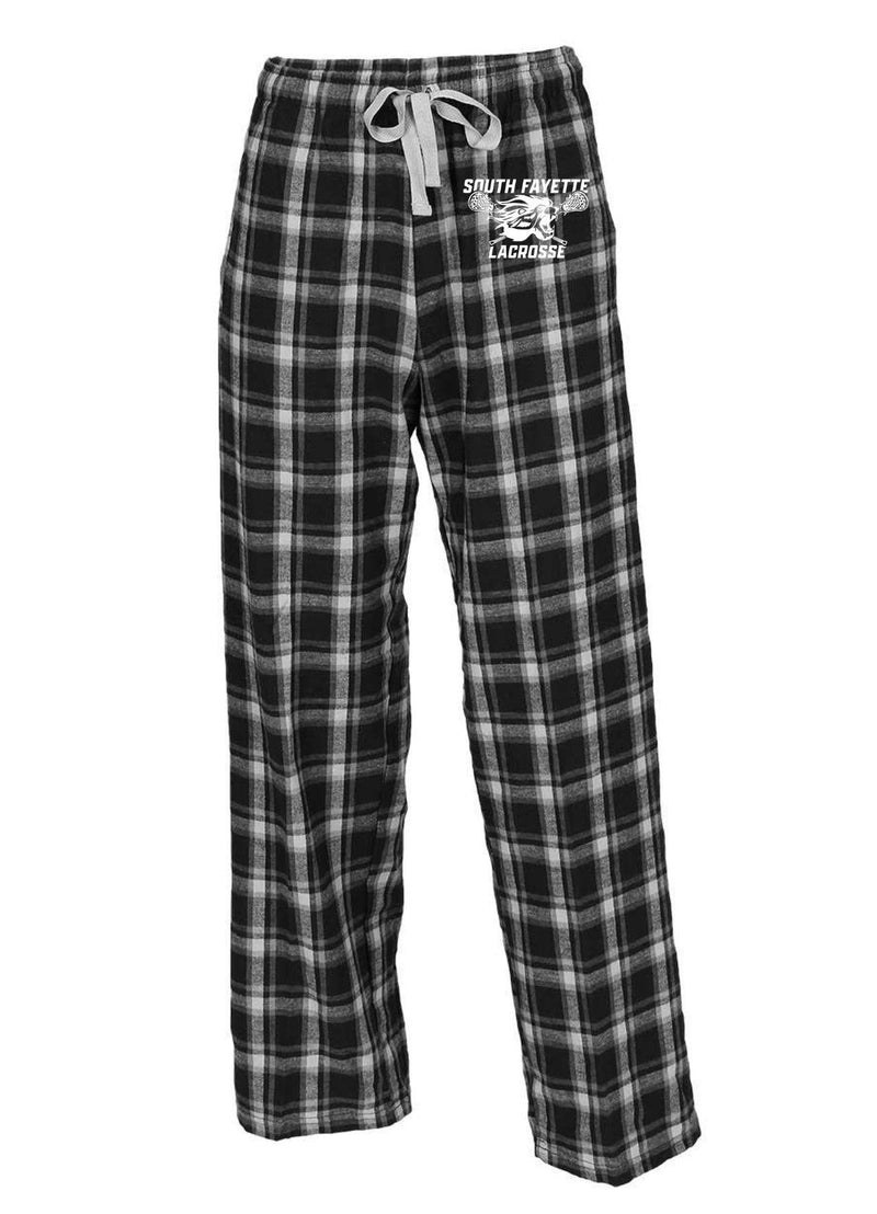 SF Boxercraft - Flannel Pants With Pockets - Black/White - Top String Lacrosse