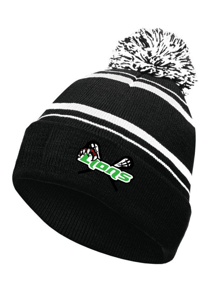SFYTH HOLLOWAY HOMECOMING BEANIE - Black - Top String Lacrosse