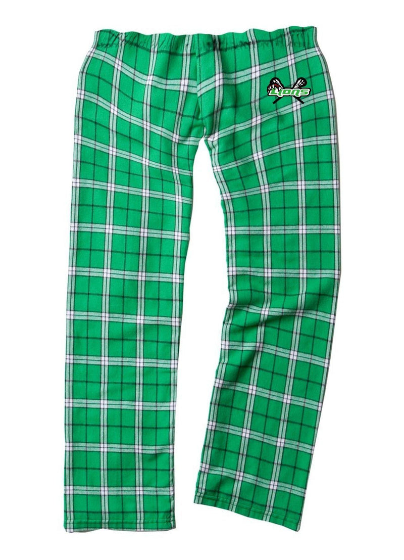 SFYTH Boxercraft - Youth Flannel Pants with Pockets - Kelly - Top String Lacrosse