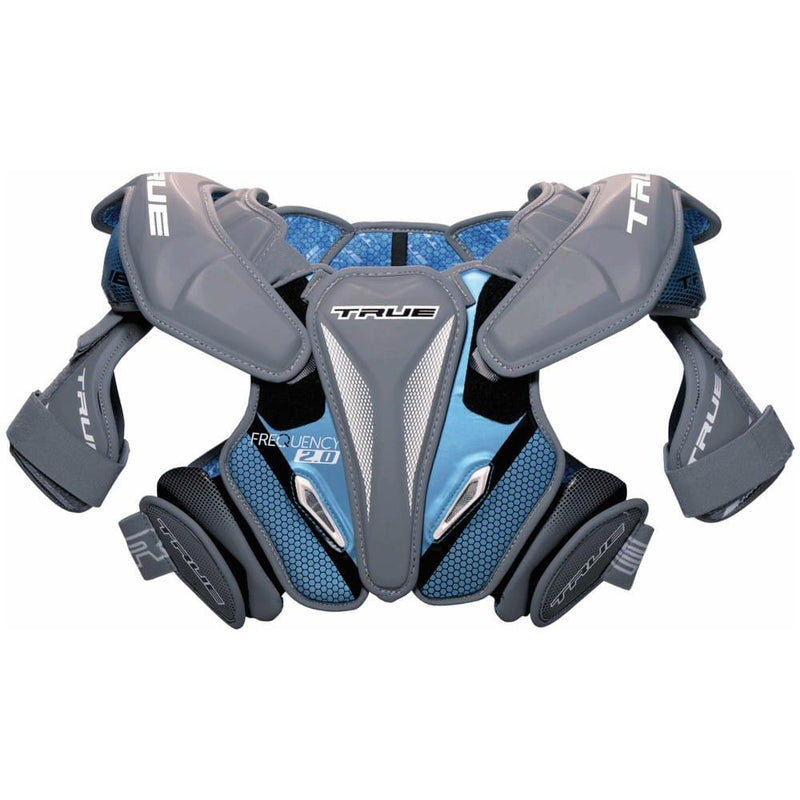 TRUE Frequency 2.0 Lacrosse Shoulder Pads | Top String Lacrosse