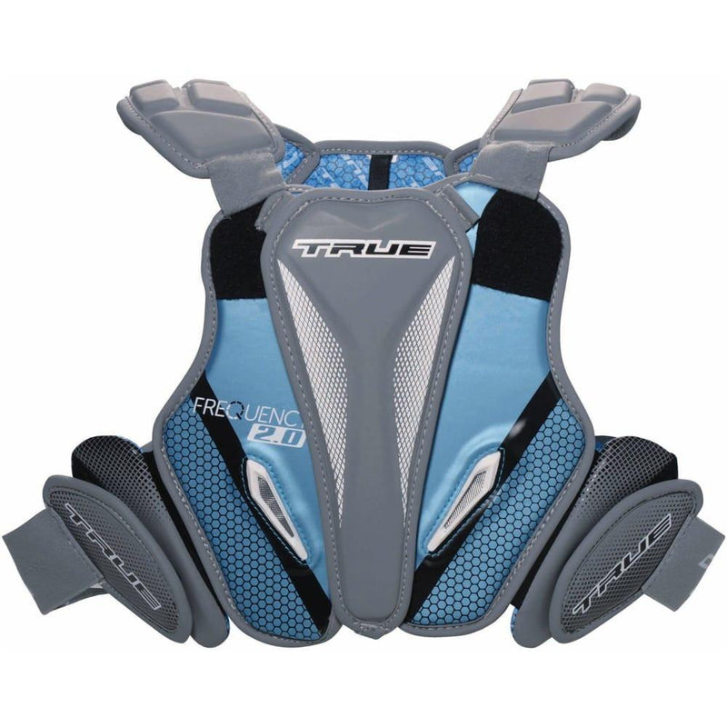 TRUE Frequency 2.0 Hybrid Lacrosse Shoulder Pads | Top String Lacrosse