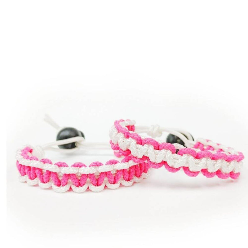 FOR A CAUSE - Breast Cancer Awareness Bracelet - Top String Lacrosse