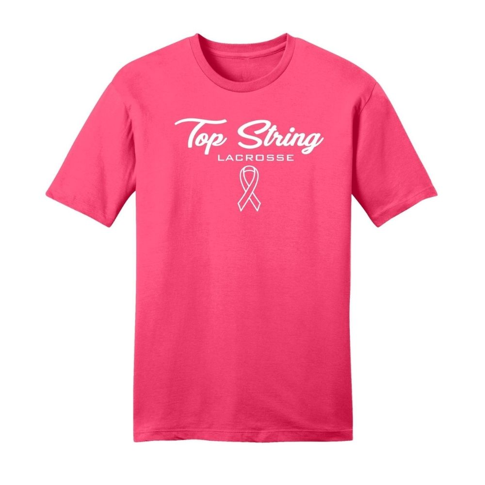 FOR A CAUSE - Breast Cancer Awareness Shirt - Top String Lacrosse