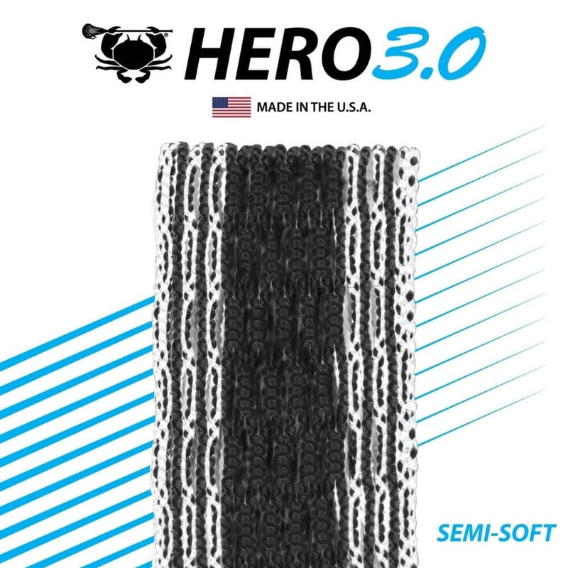 ECD Hero 3.0 Colors Storm Striker Lacrosse Mesh - Top String Lacrosse
