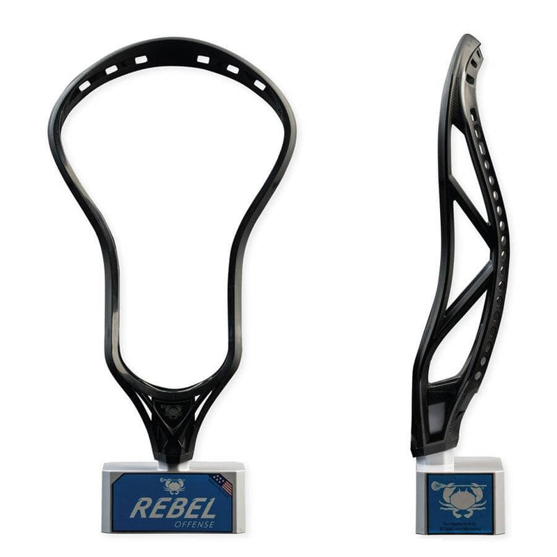 ECD Rebel Offense Lacrosse Head | Top String Lacrosse