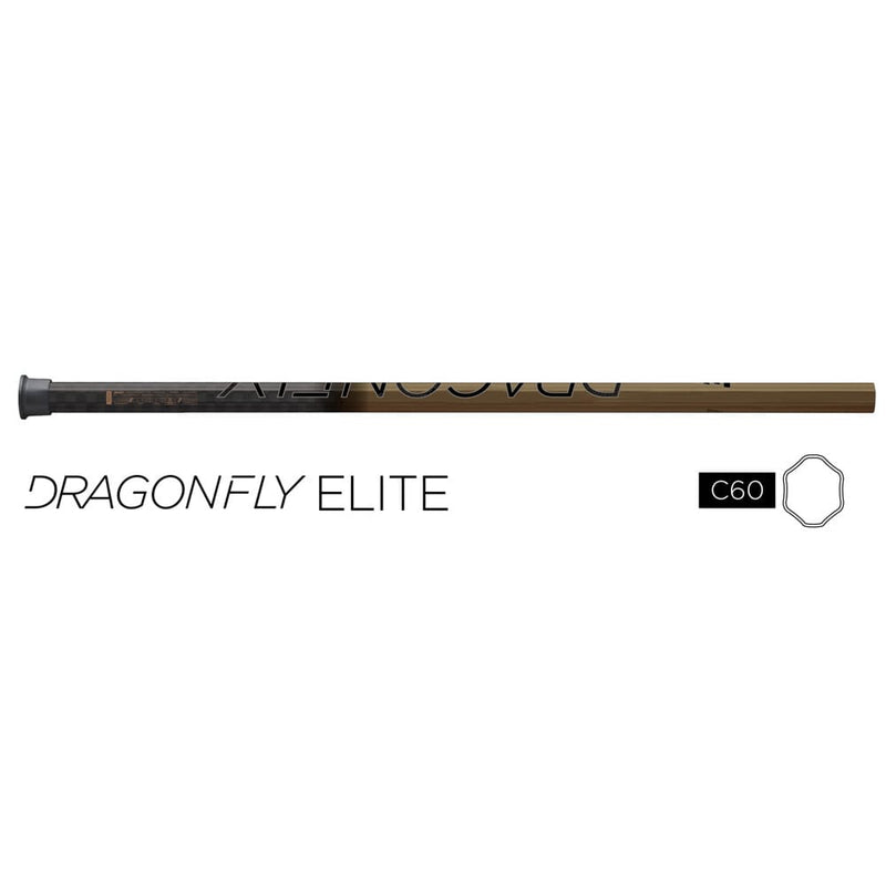Epoch Dragonfly Elite C30 iQ9 Gold Composite Attack Lacrosse Shaft | Top String Lacrosse