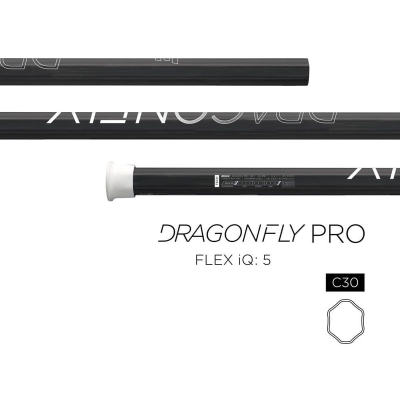 Epoch Dragonfly Pro C30 iQ5 Composite Attack Shaft | Top String Lacrosse