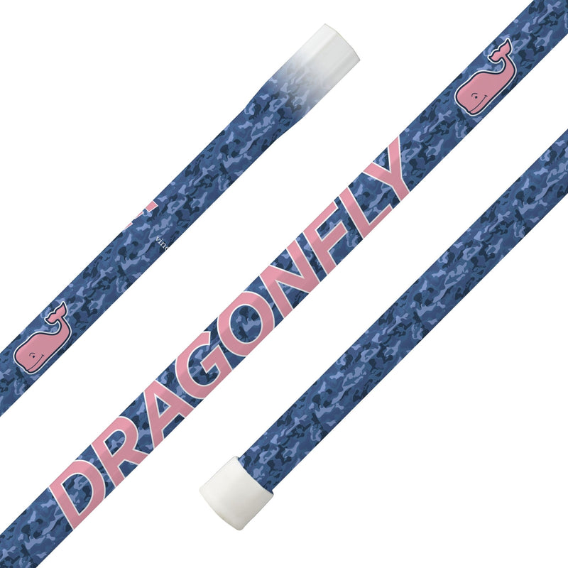 "Epoch X vineyard vines ""Blue Camo"" Dragonfly Purpose S32 iQ9 Women's Composite Lacrosse Shaft - Top String Lacrosse"