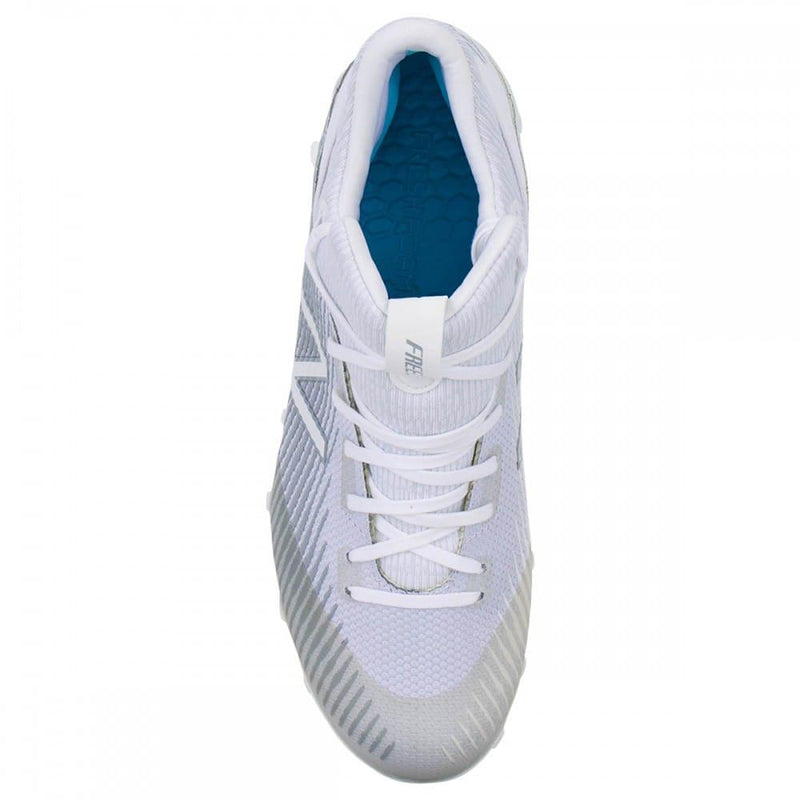 New Balance Freeze 2.0 White Lacrosse Cleats | Top String Lacrosse