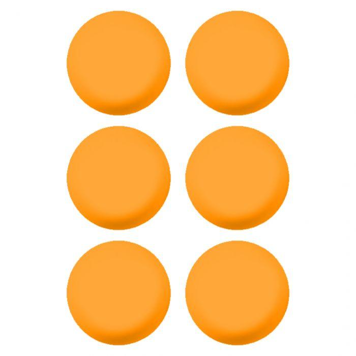 Orange Lacrosse Ball - 6 Pack - Top String Lacrosse